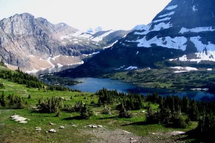 montañas congeladas Foto Brandon C