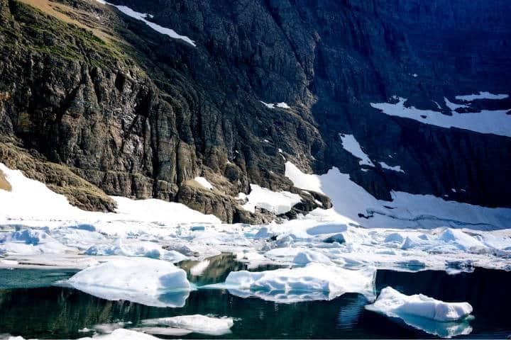 Desaparece glaciar en 2020 Foto Cody Wellons