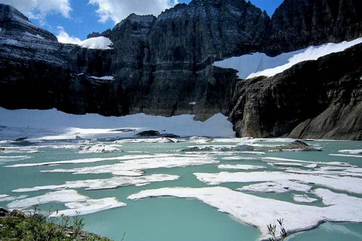 Desaparece glaciar en 2020 Foto DavidnKeng