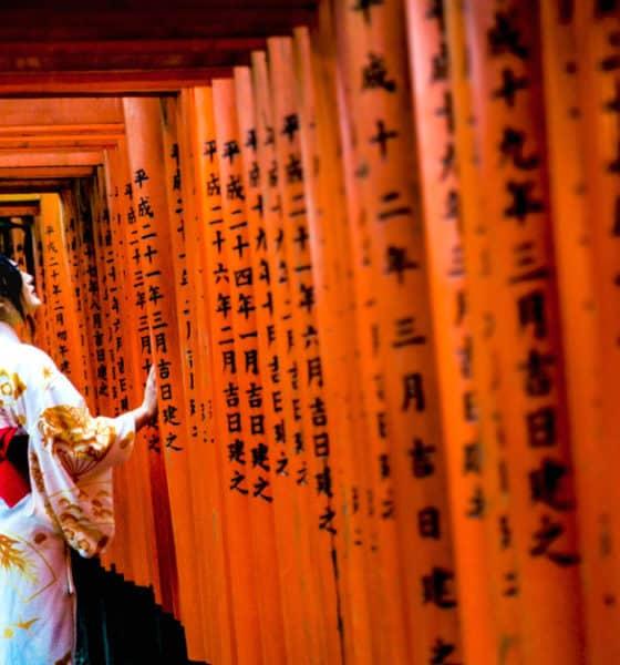 Santuario de las mil puertas Torii en Japón. Foto: Diego Radamés Santos
