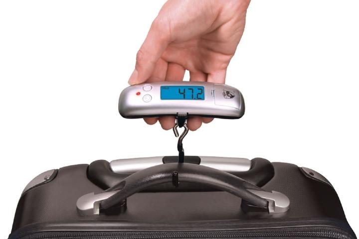 Digital luggage scale. Foto_ hammacher