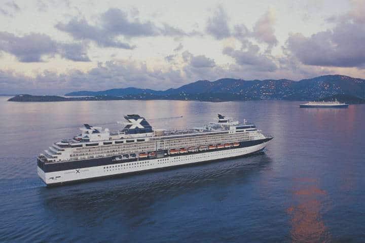 El crucero cuyo código de vestir es desnudo Foto Celebrity Cruises