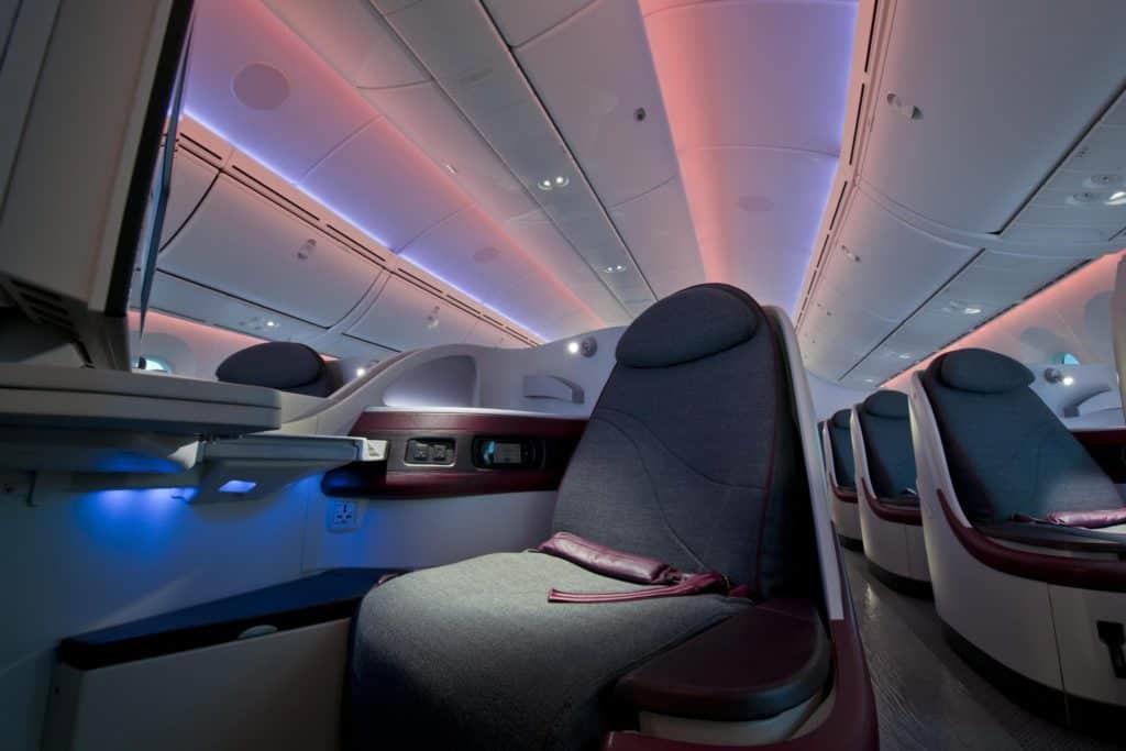 Innovación en los asientos de avión
