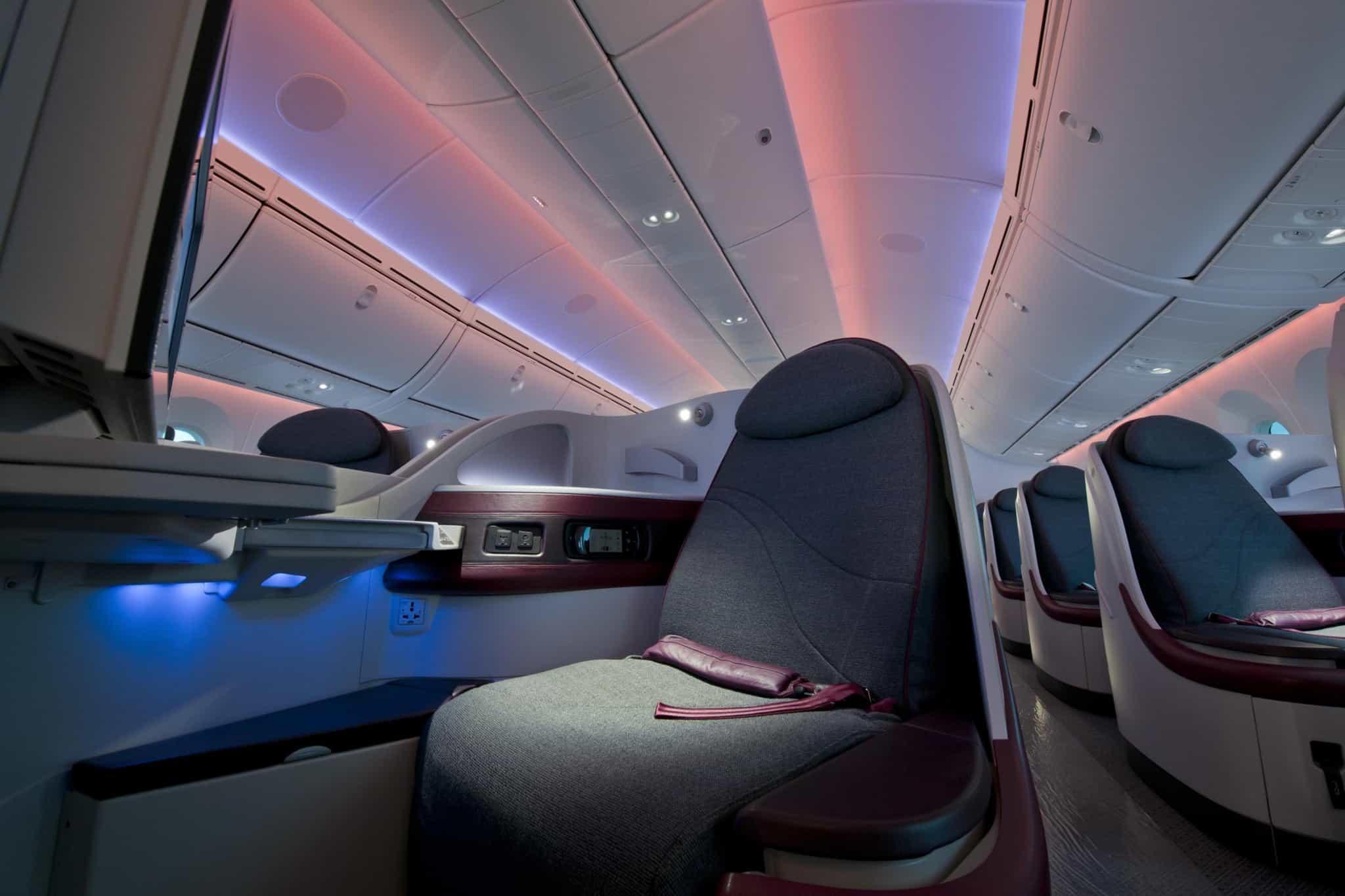 Innovación en los asientos de avión. Foto: El mundo