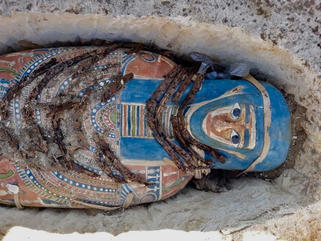 Momias de Dahshur. Foto: El mundo