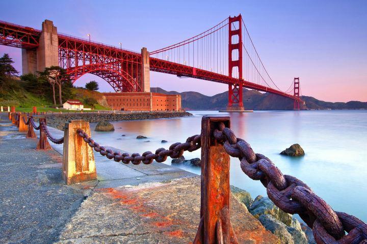 El viajero Feliz Foto: lugares para caminar en San Francisco