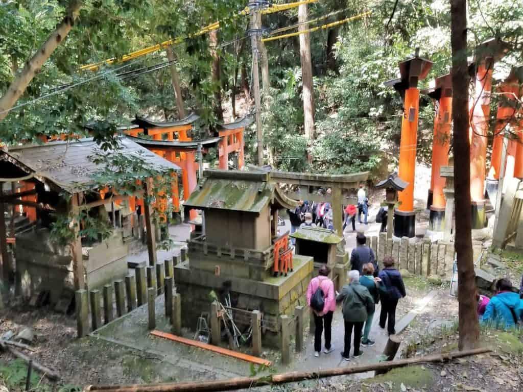 Visita el santuario Torii en Japón. Foto: Elisa Nievas