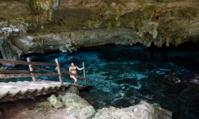 Every Steph Foto: Cenotes para salto