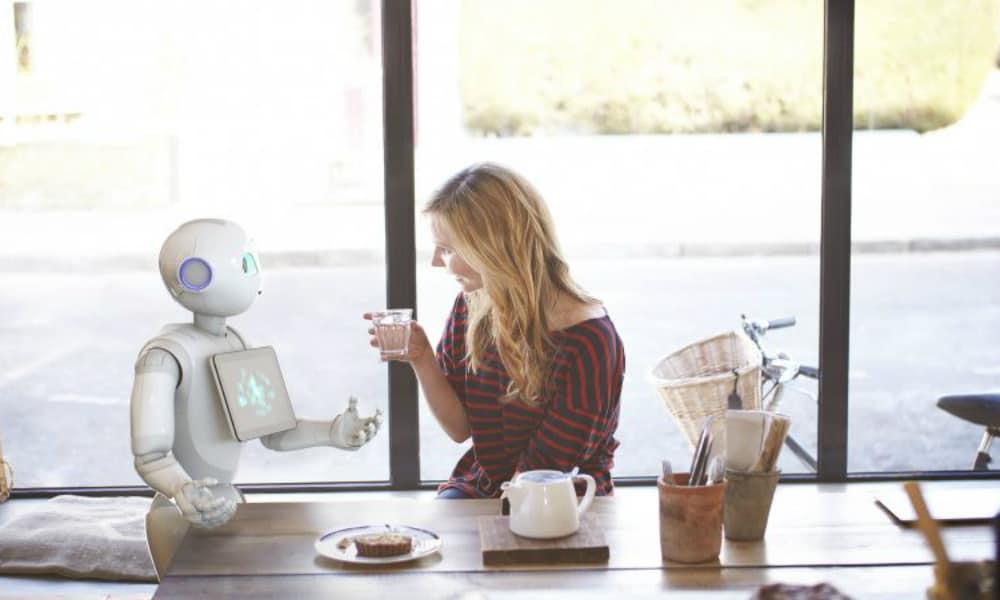 A los robots les fascina viajar Foto. Cruise Paseenger