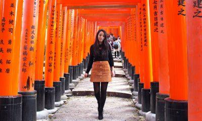 Las mil puertas torii Foto. greenandturquoise blog