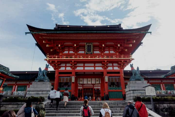 Fushimi Inari. Foto Kent Wang