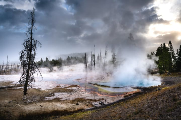 Geiseres de Yellowstone. Foto: steveofstonehenge