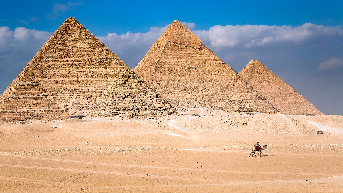 Pirámides mas antiguas en Egipto. Foto: HOLA!