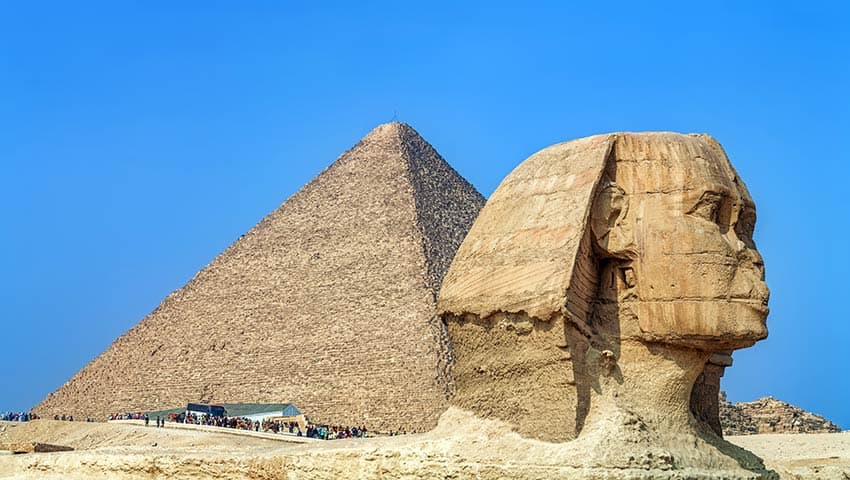 Pirámides más antiguas en Egipto. Foto: Hola