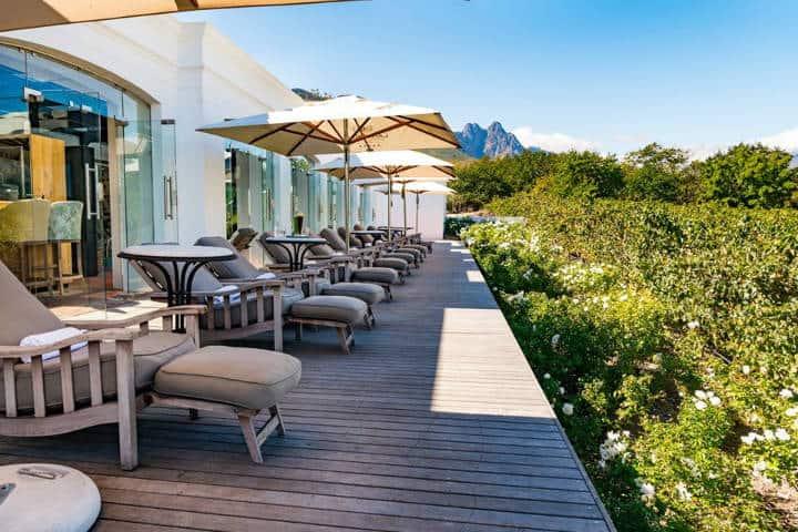 Hotel. Foto Lanzerac Wine Estate