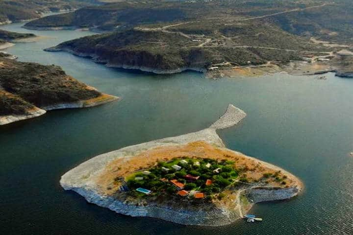 Isla Tzibanzá. Foto Isla Tzibanza