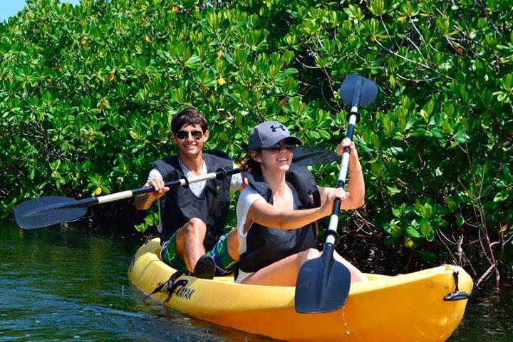 Kayak a través de los manglares. Foto_ Dressel Divers