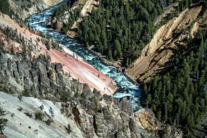 Las maravillas de Yellowstone. Foto kasabubu