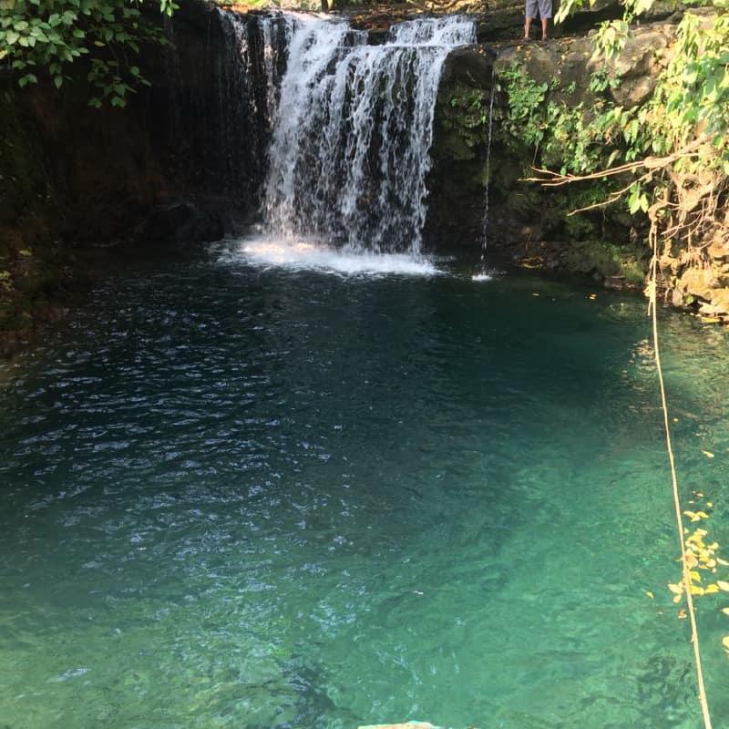 Cascada las Gemelas. Foto: Los tuxtlas