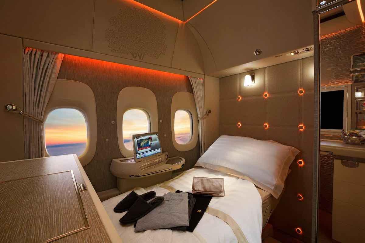Innovación en los asientos de avión. Foto: Mega ricos