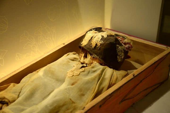 Momias en el Museo de El Carmen Foto Hector Montaño 2