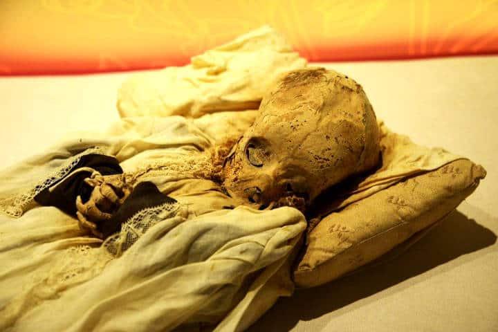 Momias en el Museo de El Carmen Foto Hector Montaño FB