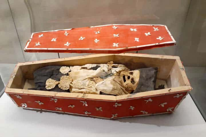 Momias en el Museo de El Carmen Foto INAH
