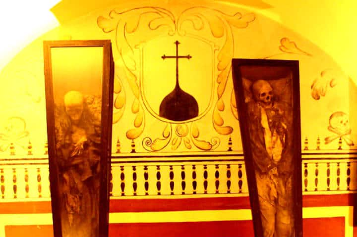 Momias en el Museo de El Carmen Foto Ian Poot Franco