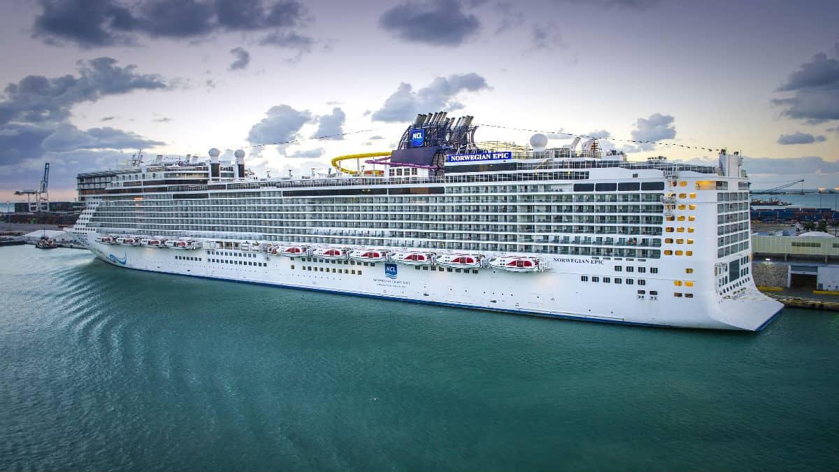 Norwegian Epic Cruise. Foto Joe Tolley