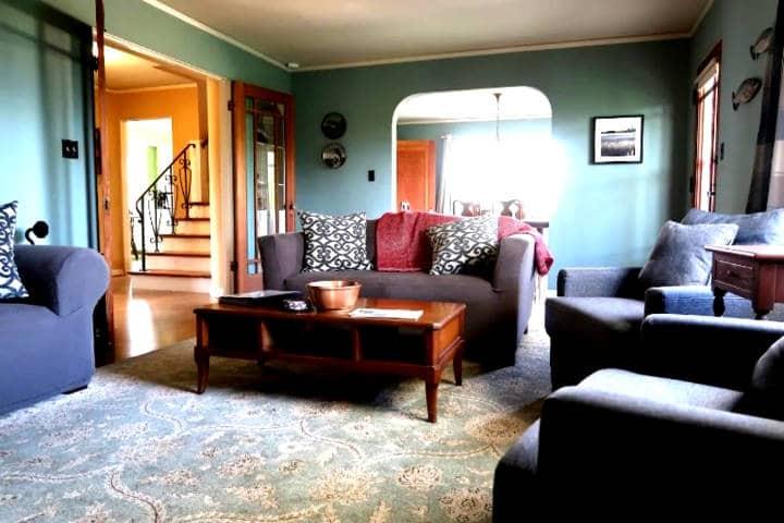 Renta la casa que habitaba Bella Foto Clarín