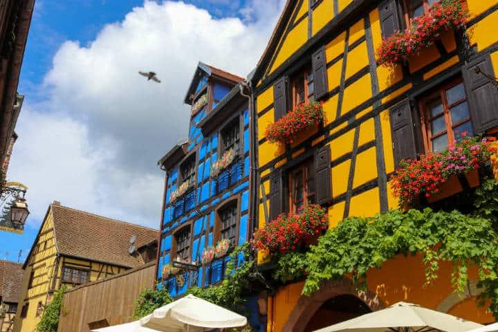 Riquewhir, Alsace. Foto Joan