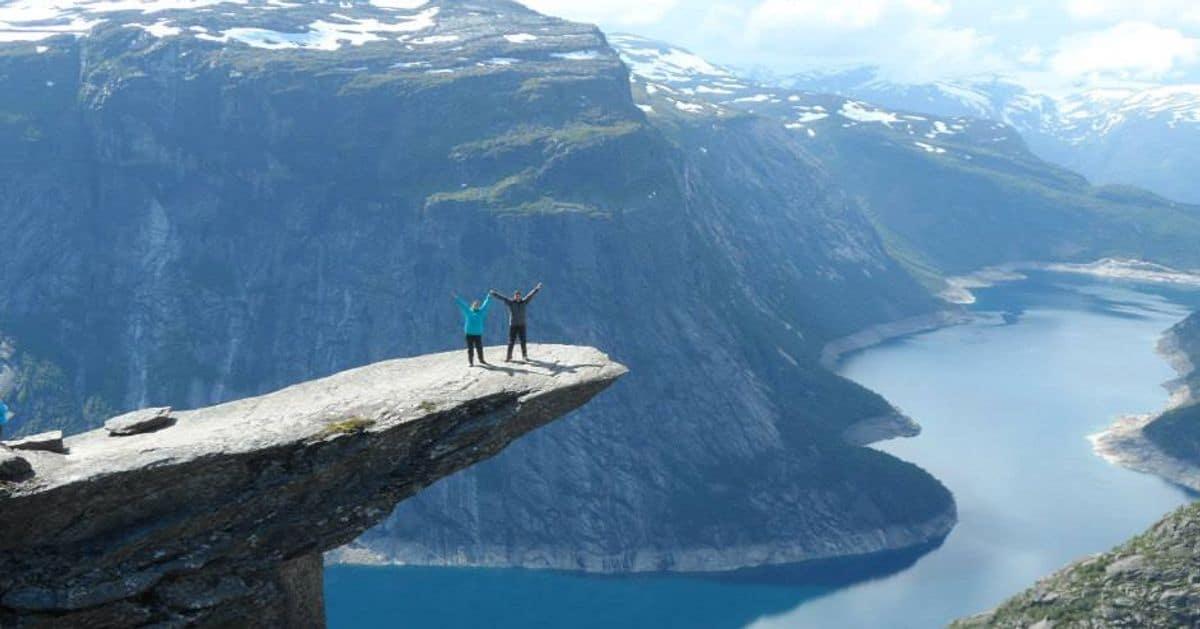 Troltunga Noruega. Foto: Rodrigo Carretero