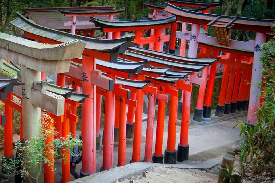 Santuario Torii. Foto: Ryuhikai