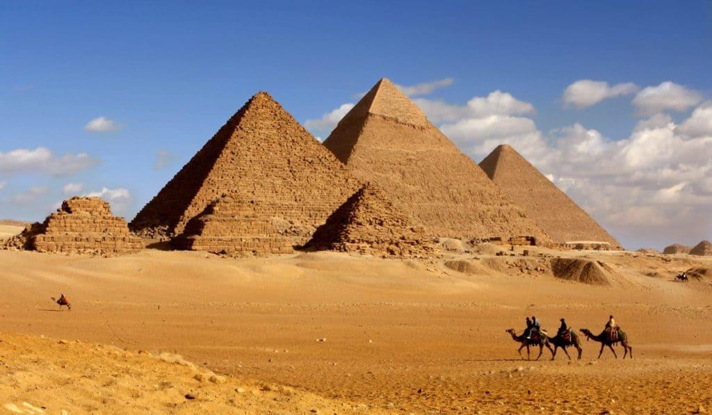 Pirámides más antiguas de Egipto