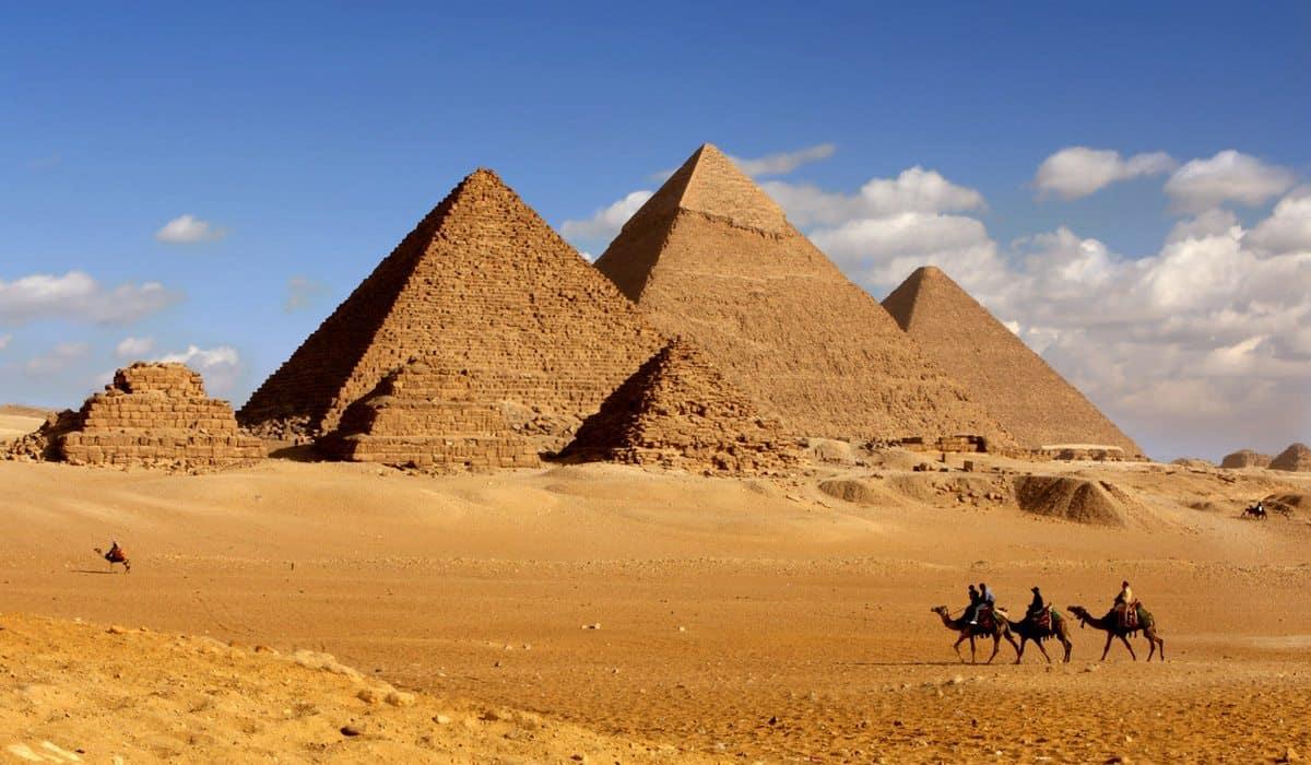 Pirámides en Egipto. Foto: Selecciones