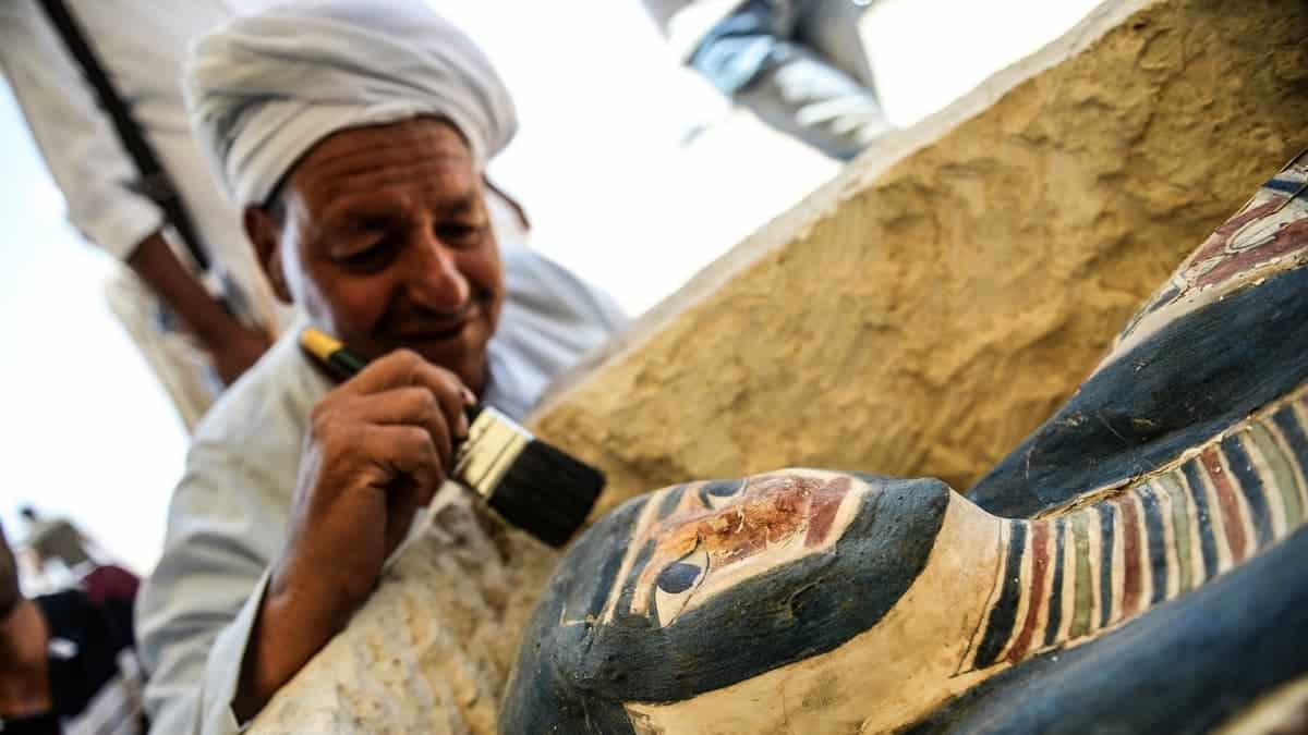 Momia en Egipto. Foto: T13