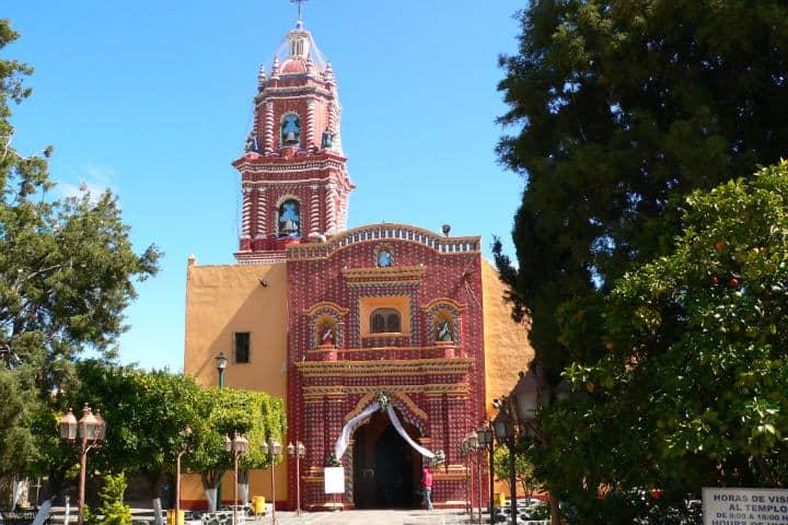 Templo de Santa María Tonantzintla. Foto: Steve Silverman