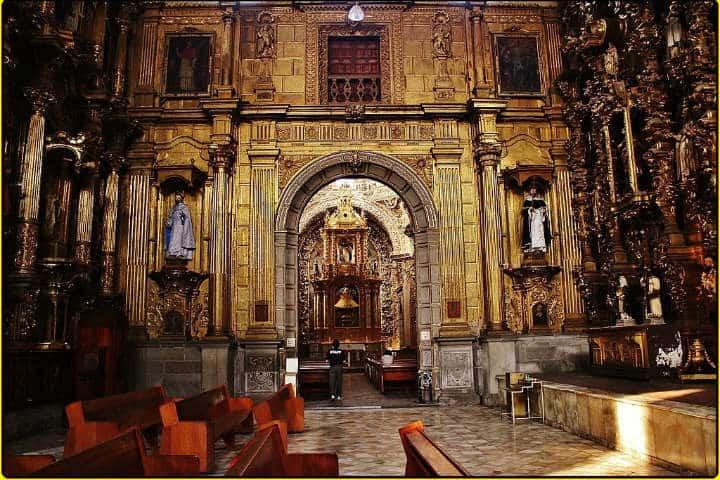 Templo de Santo Domingo. Foto: Catedrales e Iglesias/Cathedrals and Churches