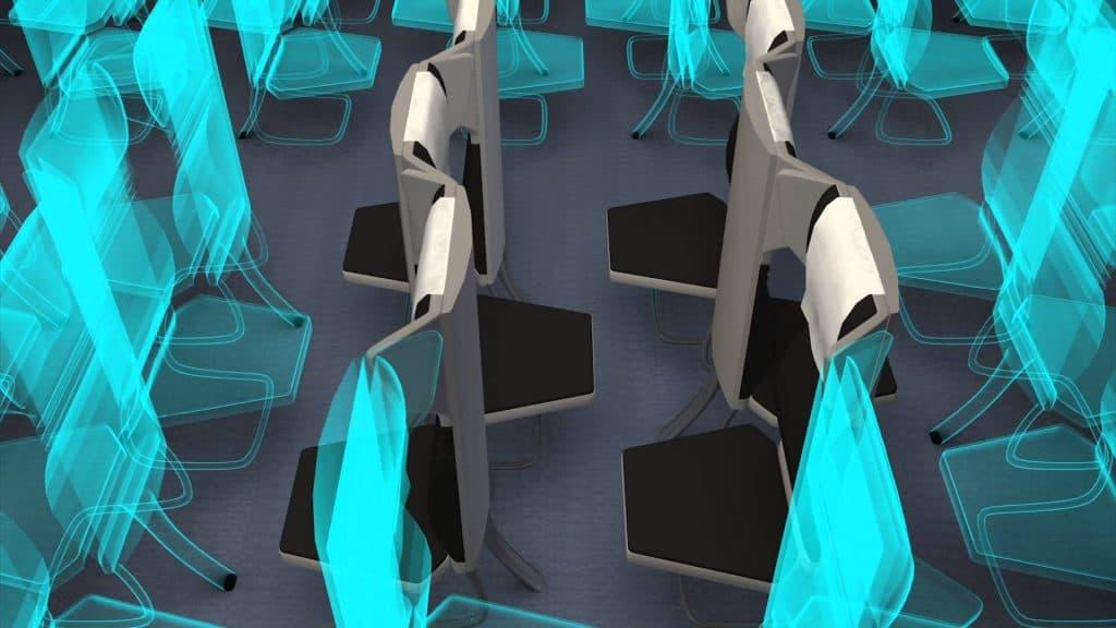 Innovadores asientos de avión. Foto: Tendencias hoy