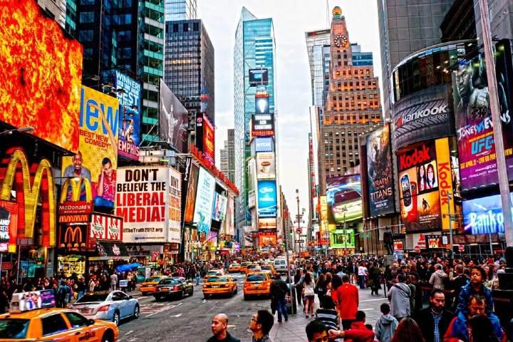Times Square. Foto: El diario NY