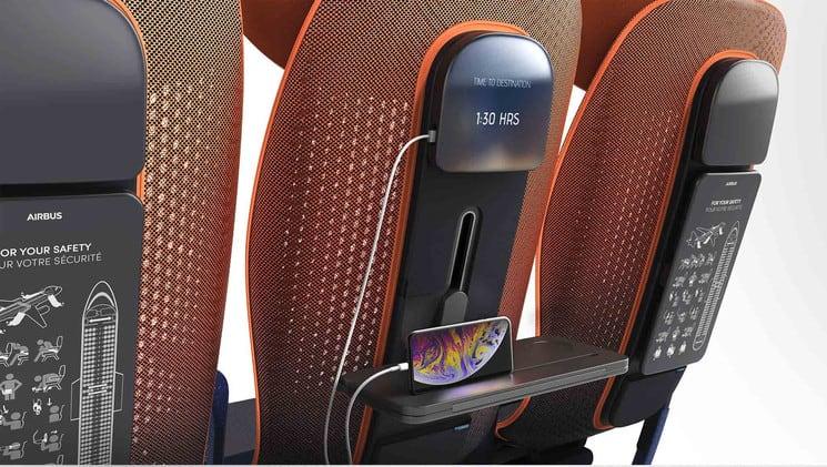 Aplicacion Move en los aviones. Foto: Traveler
