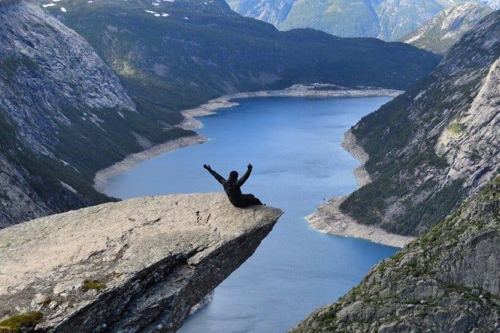 Trolltunga, Noruega selfies peligrosas