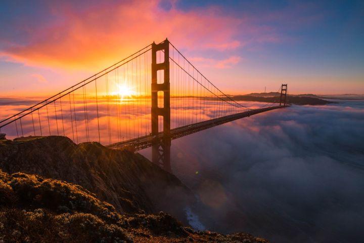 US Traveler Foto: lugares para caminar en San Francisco