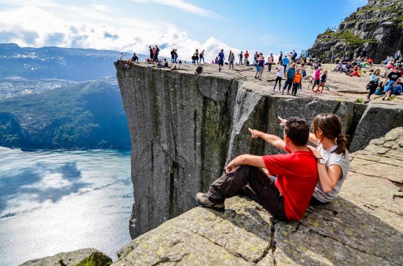 Preikestolen Noruega. Foto: Viajes chavetas