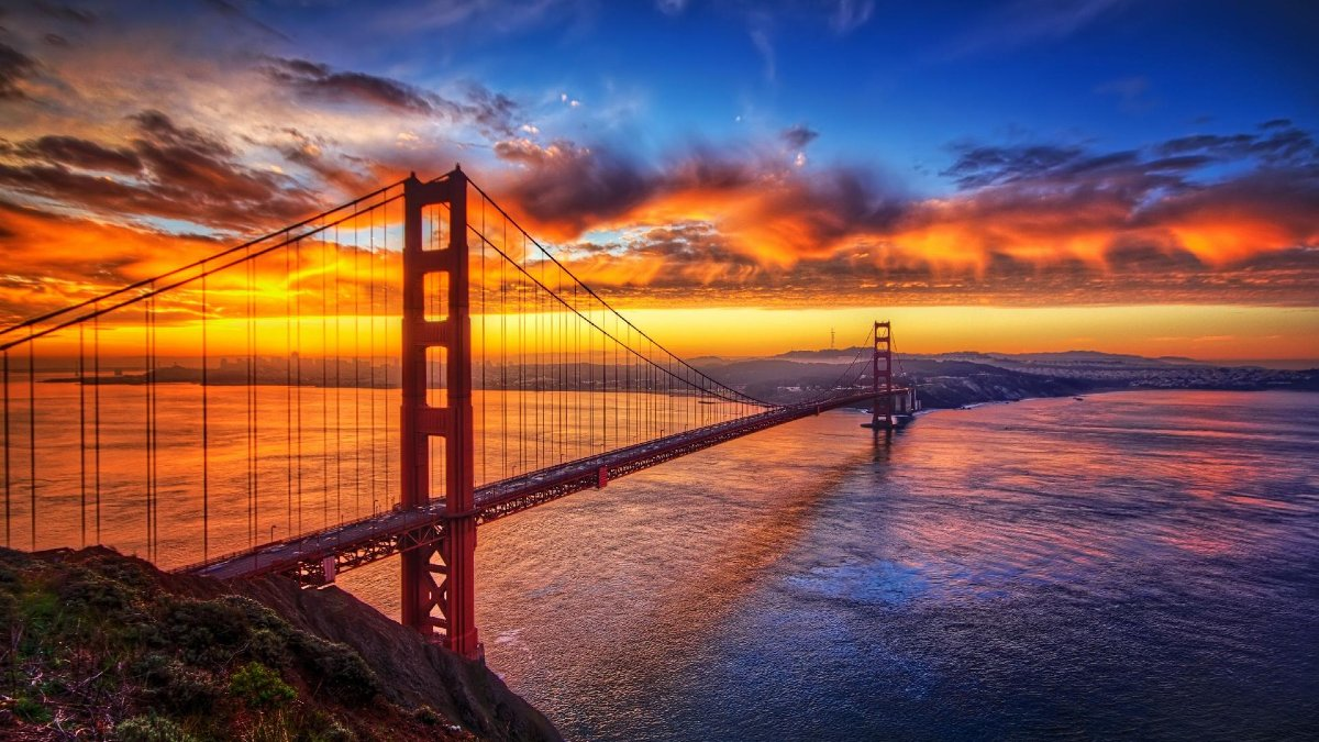 Wallpaper Abyss Foto: lugares para caminar en San Francisco