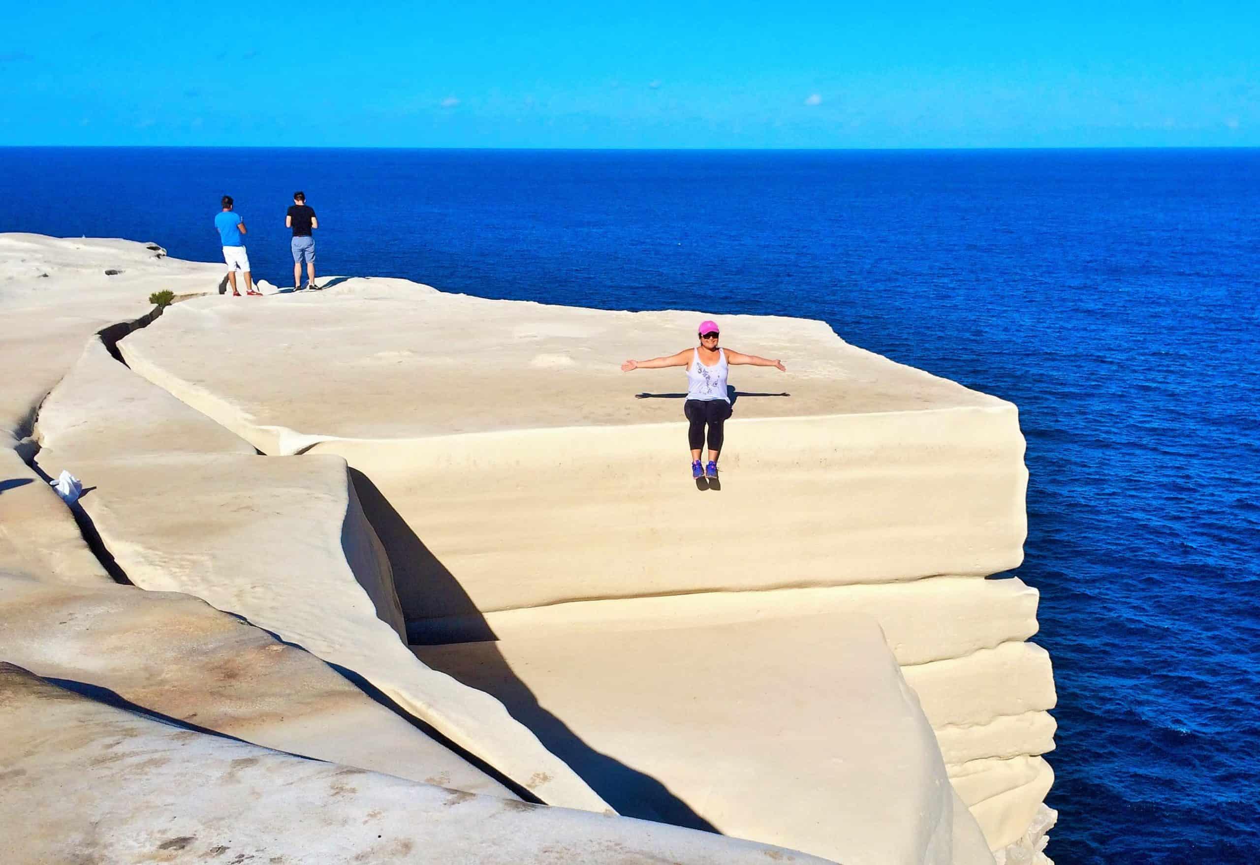 Wedding Cake Rock en Australia. Foto: WeekendNotes