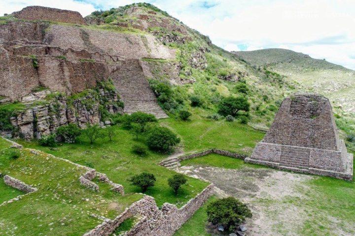 Zona arqueológica Zacatecas. Foto_ Facebook INAH