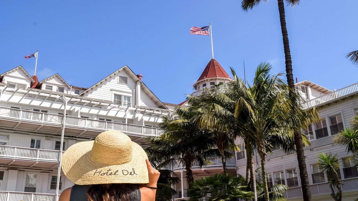 Portada Hotel Coronado. Foto. Hotel del Coronado (1500 Orange Ave, Coronado, California, Estados Unidos)
