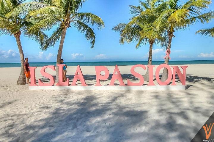 Isla de la Pasión en Quintana Roo. Foto Viajeros vagabundos
