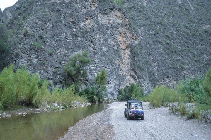 Tzibanzá isla en Querétaro. Foto Jeep thing México